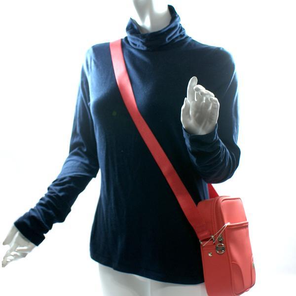 Lacoste Vertical Shoulder Bag Coral N26046003 Lacoste