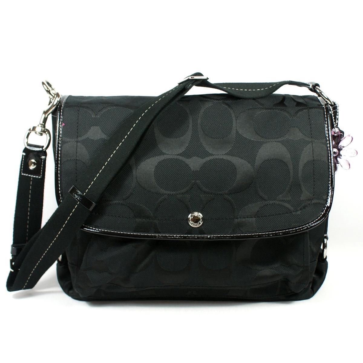 Coach Daisy Nylon Signature Messenger Bag Laptop Bag