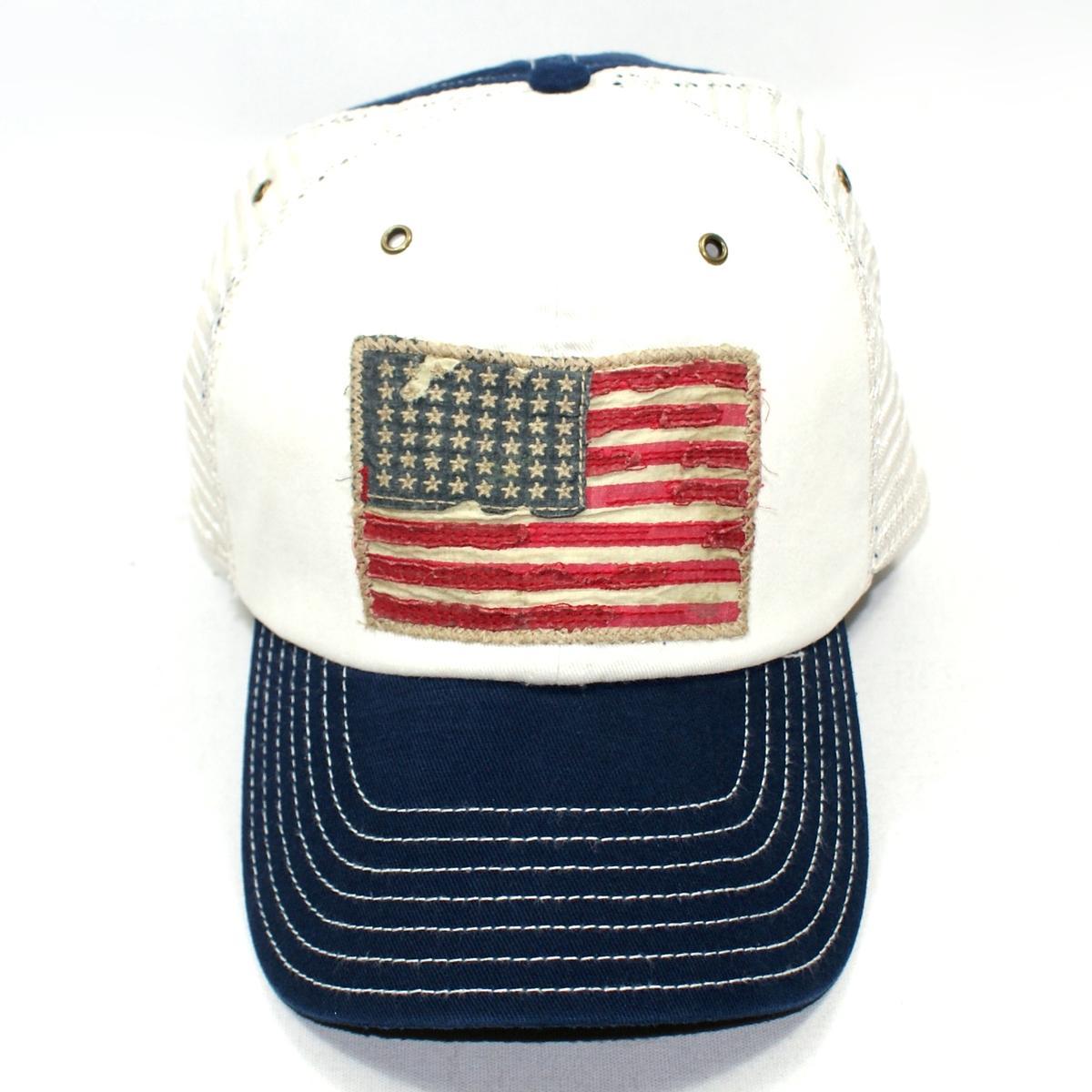 Polo Ralph Lauren American Flag Rugged Cap Navy 6554799