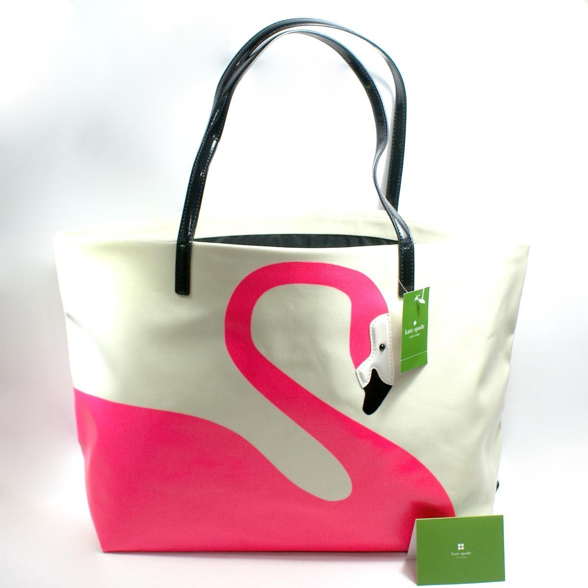 Kate Spade Dayton Tropica Flamingo Large Tote Bag #WKRU1486 : Kate ...