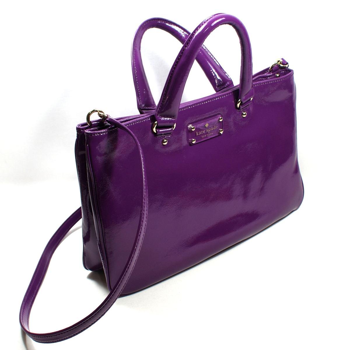 Kate Spade Brette Fanfare Scarlet Satchel Crossbody Bag