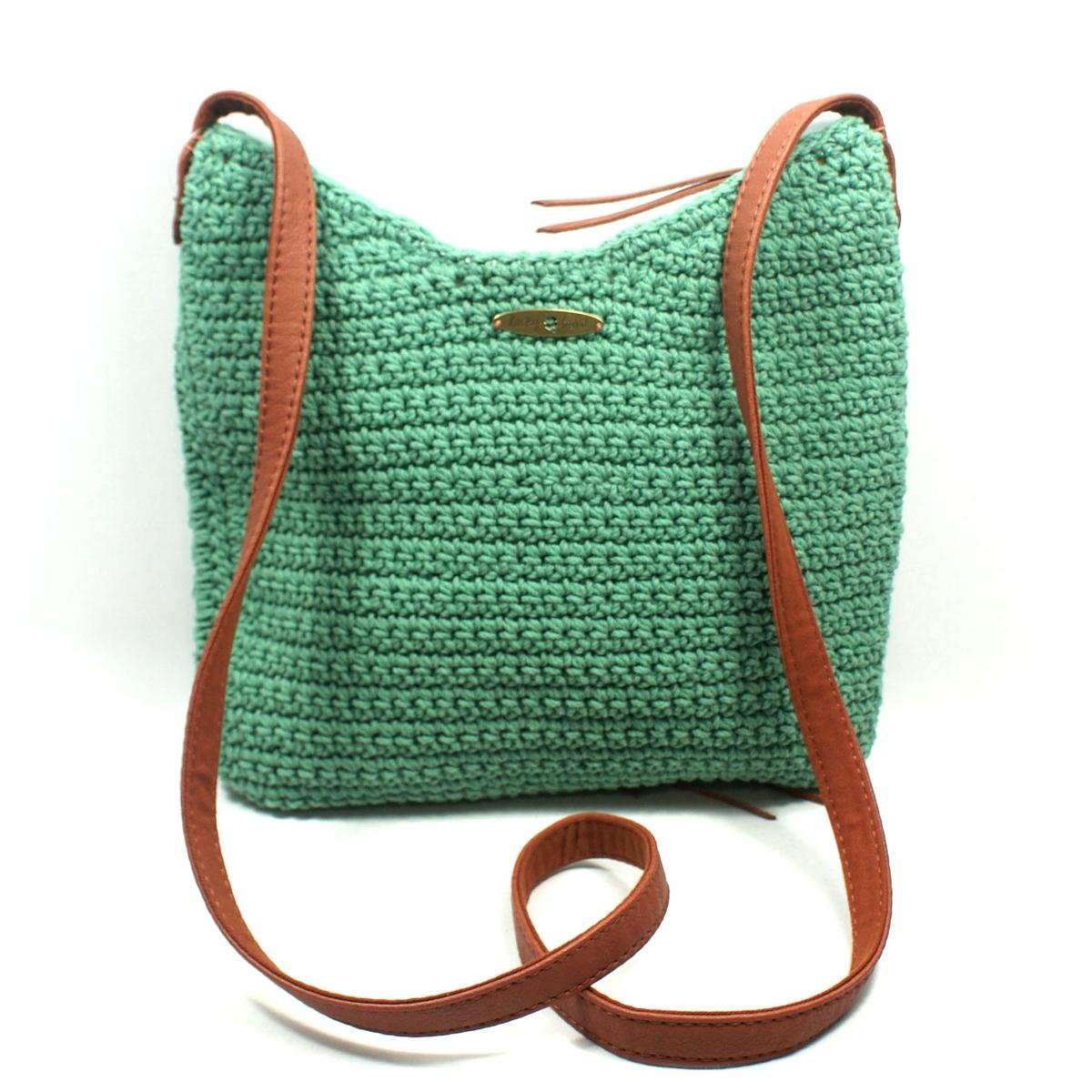 Lucky Brand Ojai Crochet Green Swing/ Crossbody Bag #HKRU1384 Lucky ...
