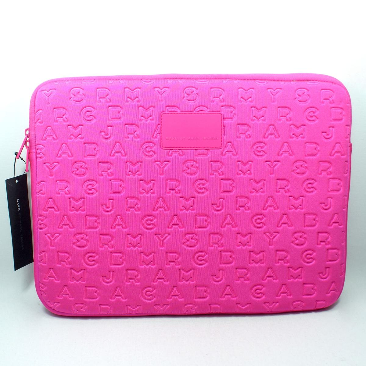 Case Design marc jacobs cell phone cases : Marc By Marc Jacobs Hot Pink 15 Inch Laptop Case/ Laptop Sleeve # ...
