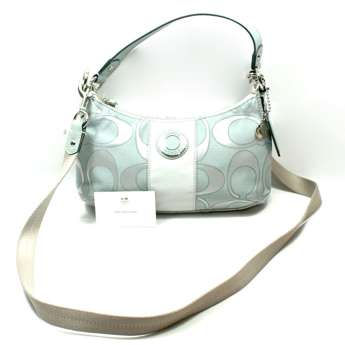 Coach Signature Sateen Outline Demi Handbag Cross Body