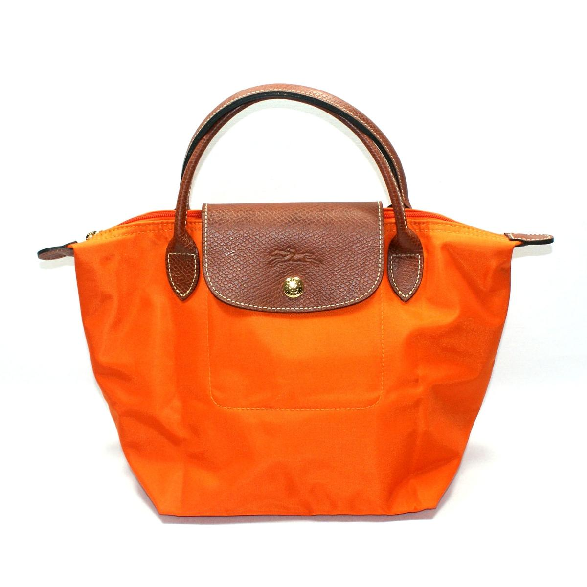 ... Place Mini Duffle Tote Bag Orange #1621089217 | Longchamp 1621089217
