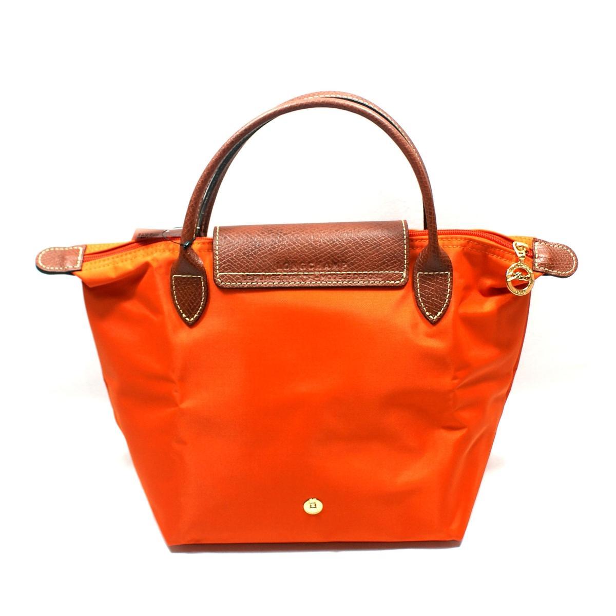 Longchamp Le Place Mini Duffle Tote Bag Orange 1621089217