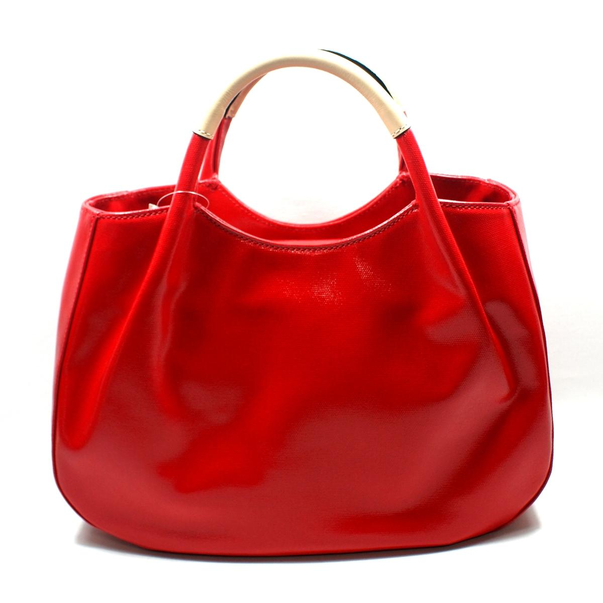 kate spade treesh fulton street black handbag red