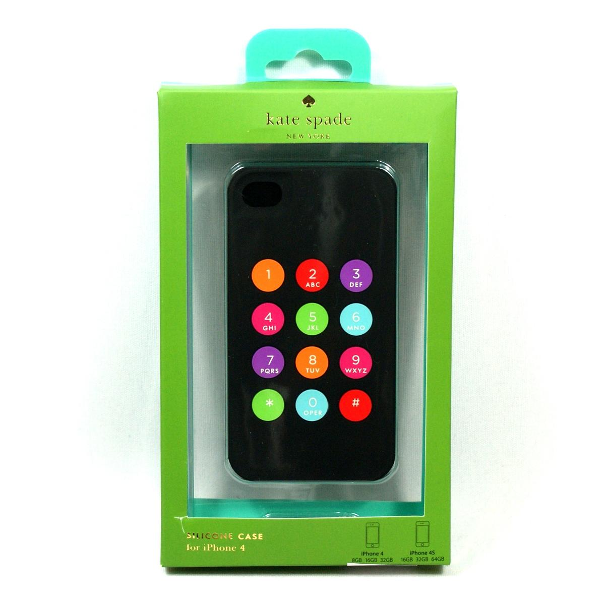 Kate Spade Iphone 4 Case Premium Silicone Keypad For Apple