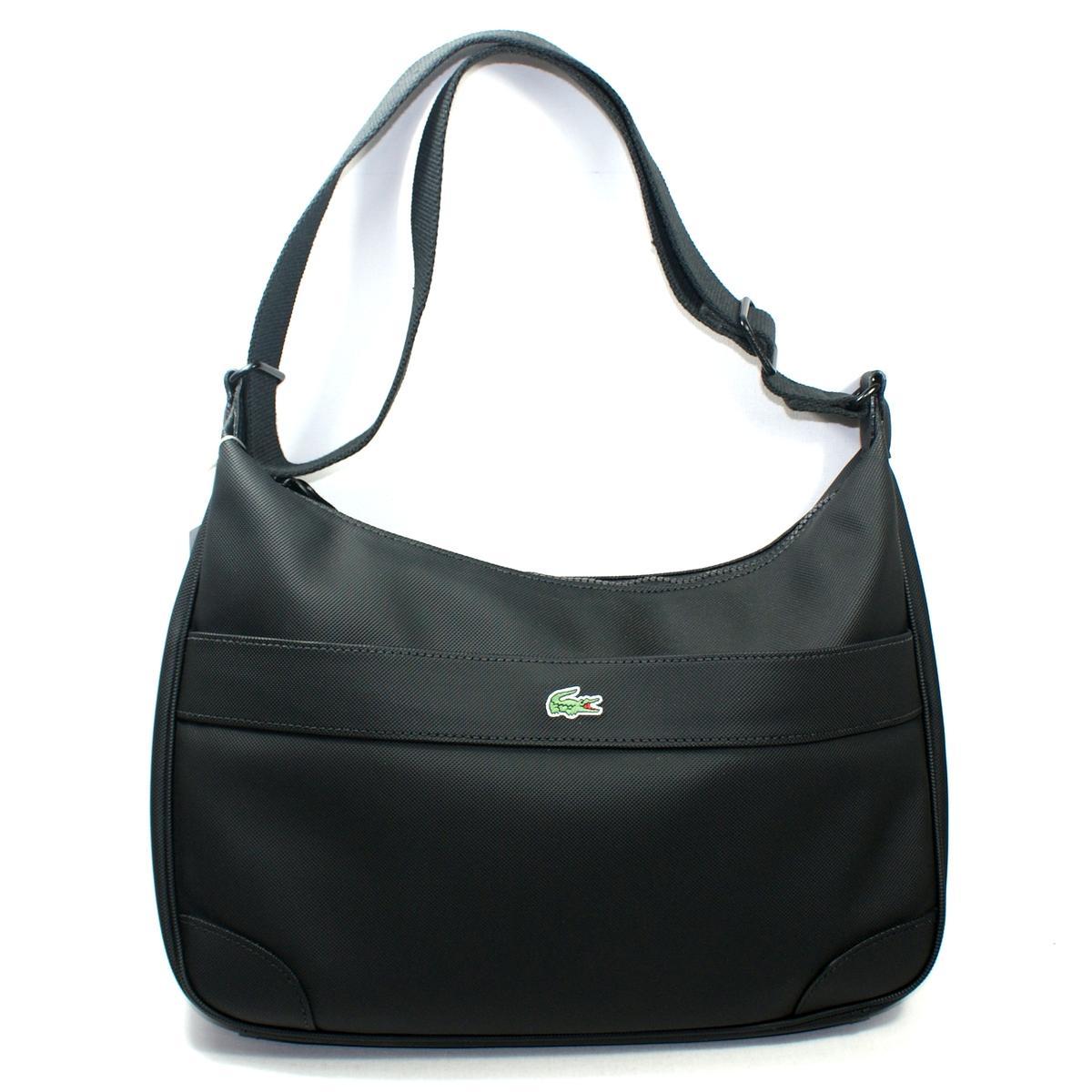 Lacoste Black Iris Hobo Bag  Crossbody Bag  NF0192NC  1ab07e4b7b451