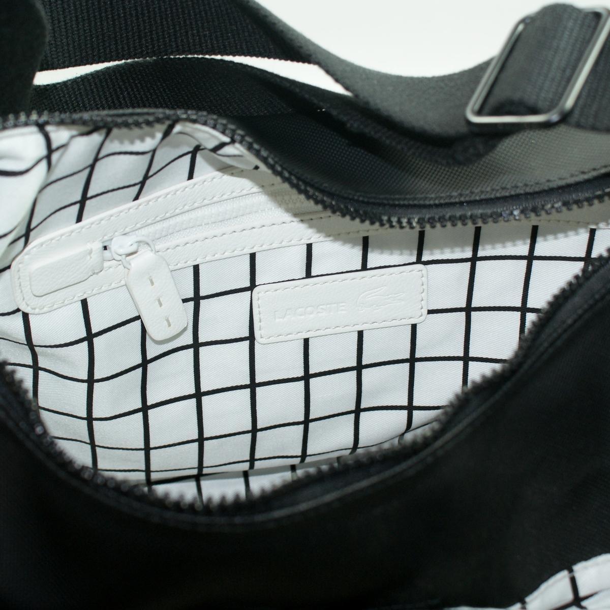 Lacoste Black Iris Hobo Bag Crossbody Bag Nf0192nc