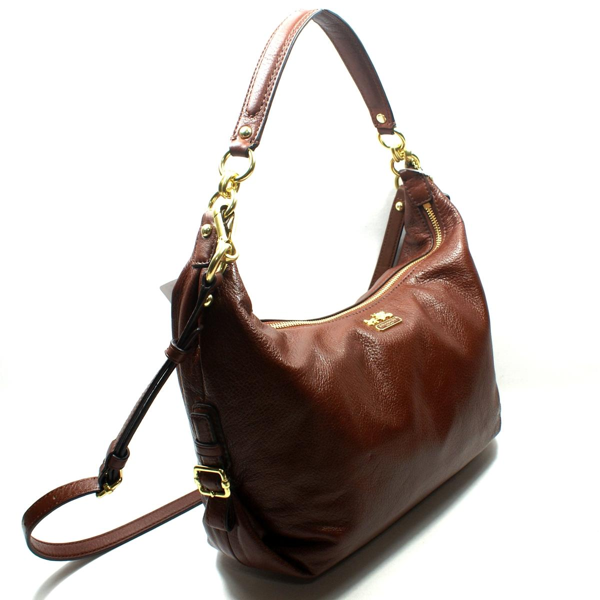 Coach Madison Leather Hailey Hobo/ Cross Body Bag #18633 ...