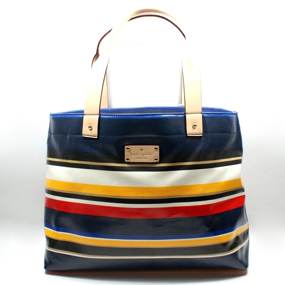 Case Design kate spade phone case : Kate Spade Westchester Forever Stripe Magazine Tote Bag #WKRU1809 ...