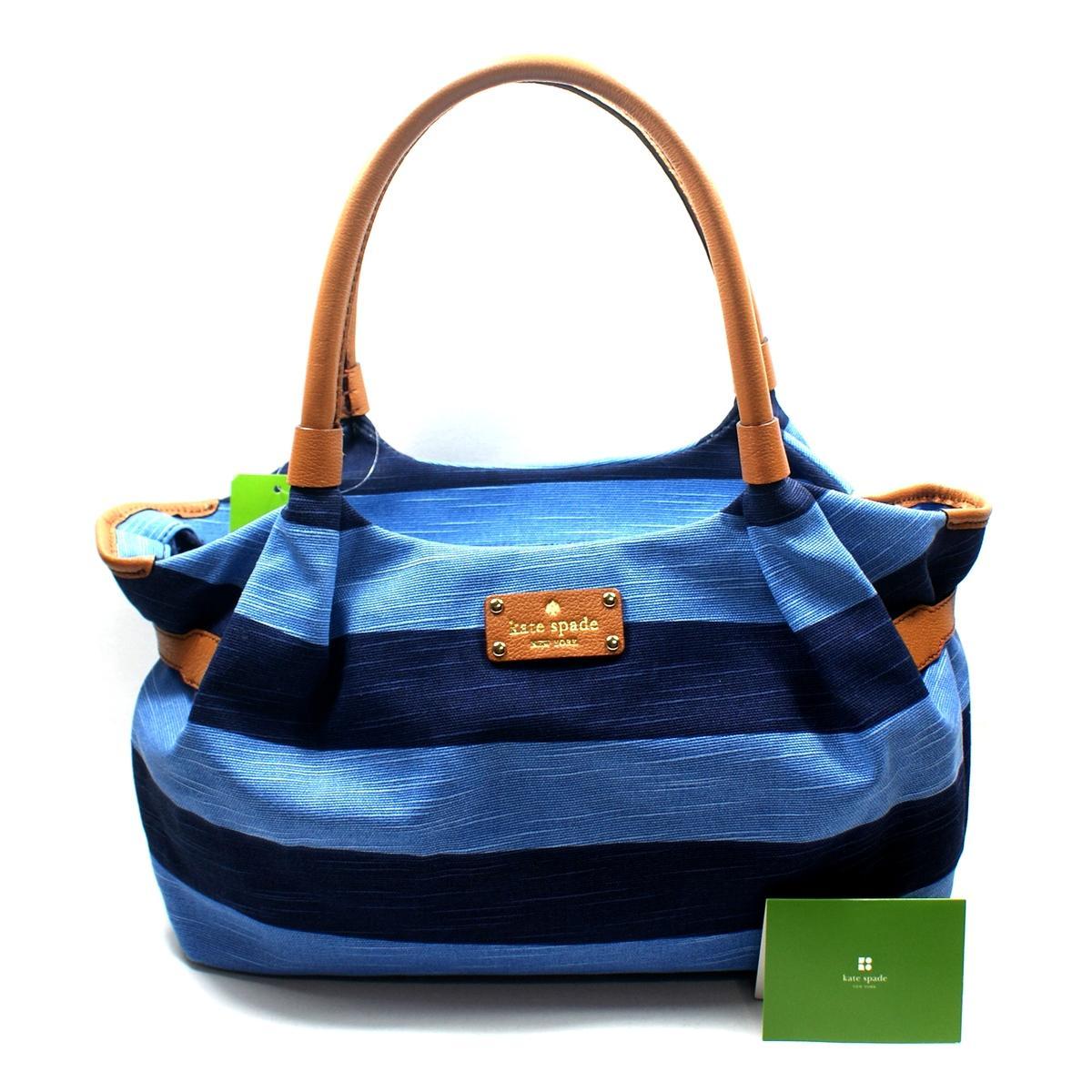 Kate spade blue striped purse