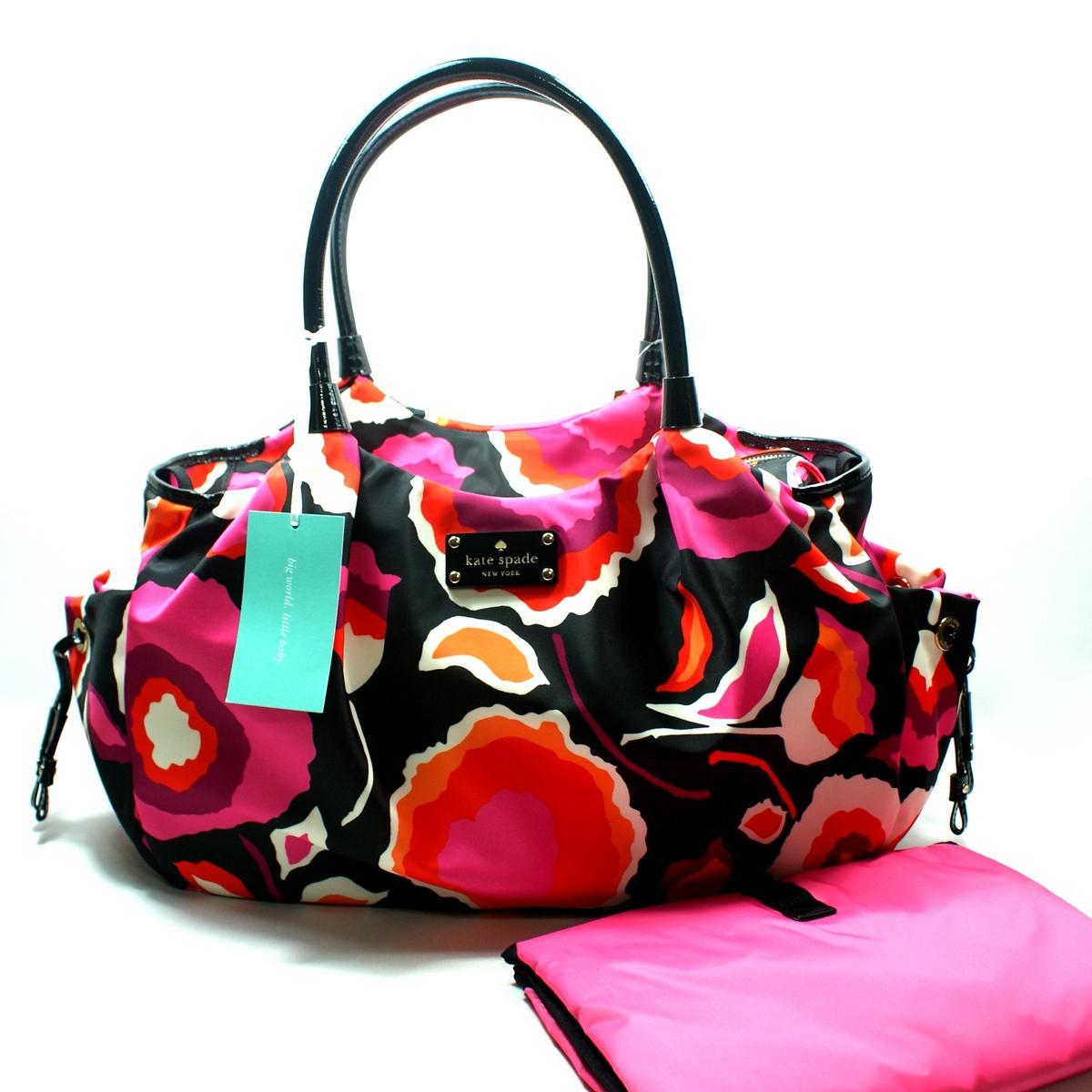 Kate Spade Stevie Baby Bag Giza Diaper Bag Shoulder Bag