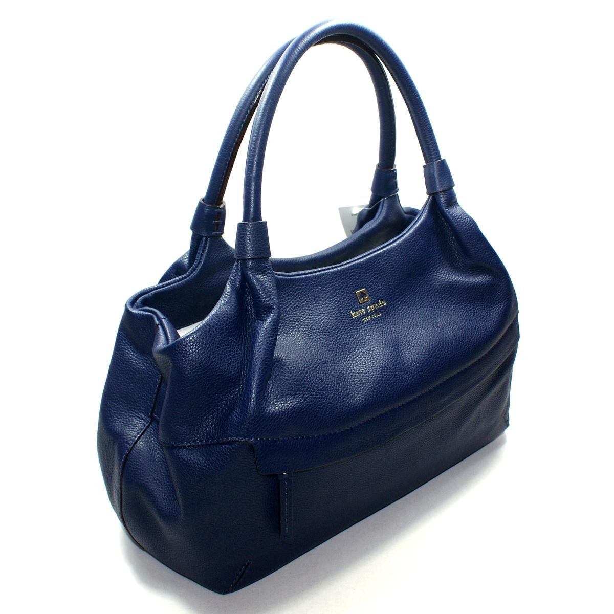 Navy Blue Leather Shoulder Bags – Shoulder Travel Bag