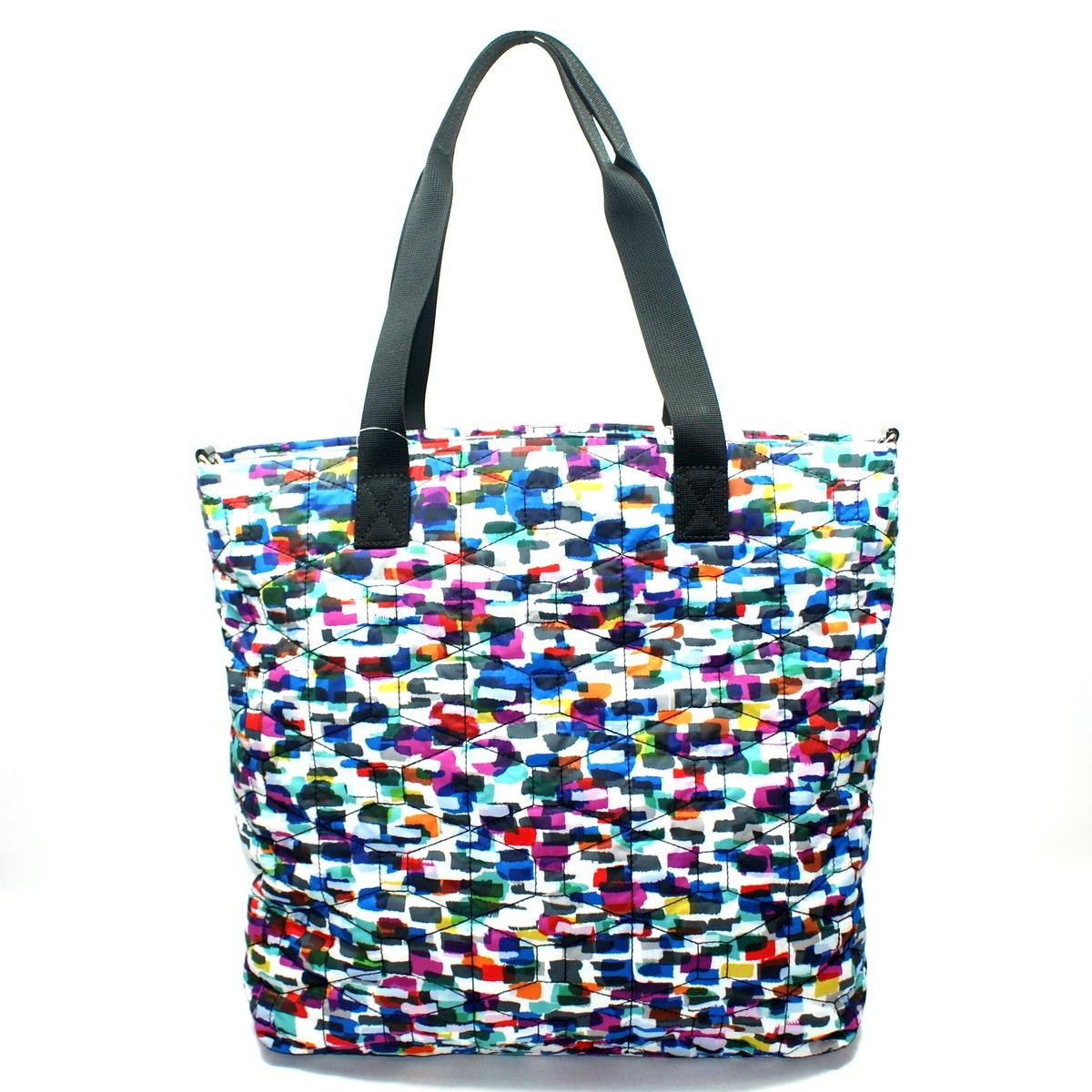 Kate Spade Signature Spade Quilted Bon Shopper Diaper Bag/ Tote Bag # ...