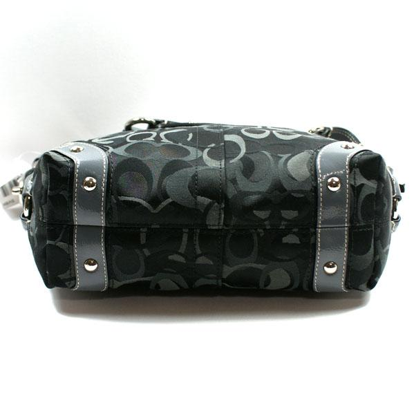 262444b9efd5 Home · Coach · Optic Signature Carly Shoulder Bag Blk. CLICK THUMBNAIL TO  ZOOM. Found ...