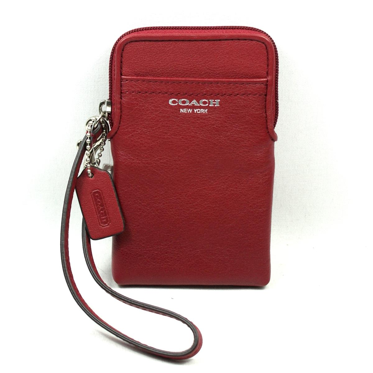 Coach Legacy Leather Universal Case/ Wristlet/ Iphone 5, 4, 4S Case ...