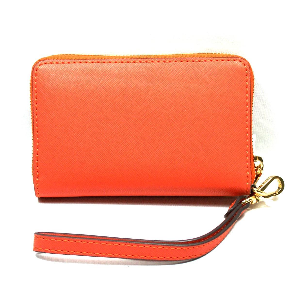 Michael Kors Saffiano Orange iPhone 5 Cases