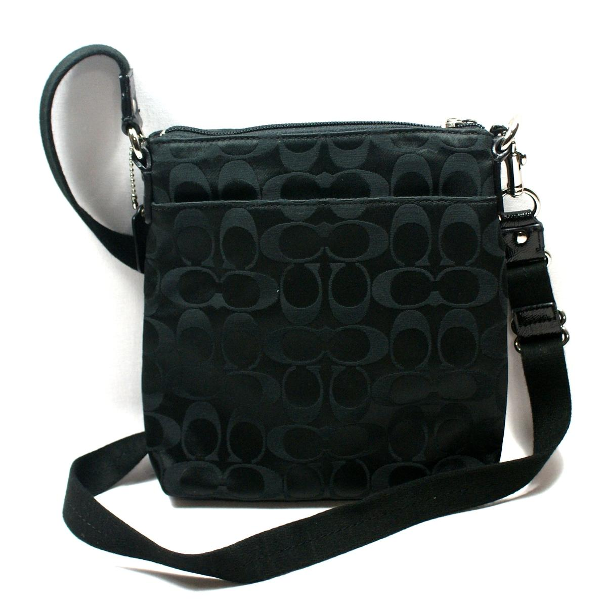 Coach Daisy Signature Sateen Swingpack Crossbody Bag