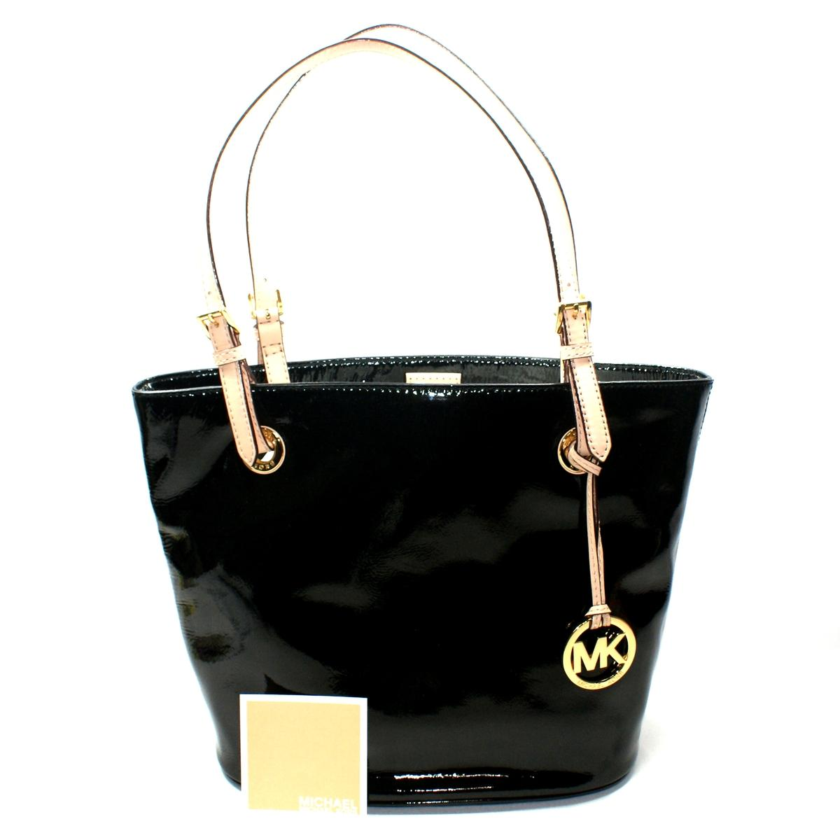 Michael Kors Jet Set Medium Genuine Patent Leather Tote