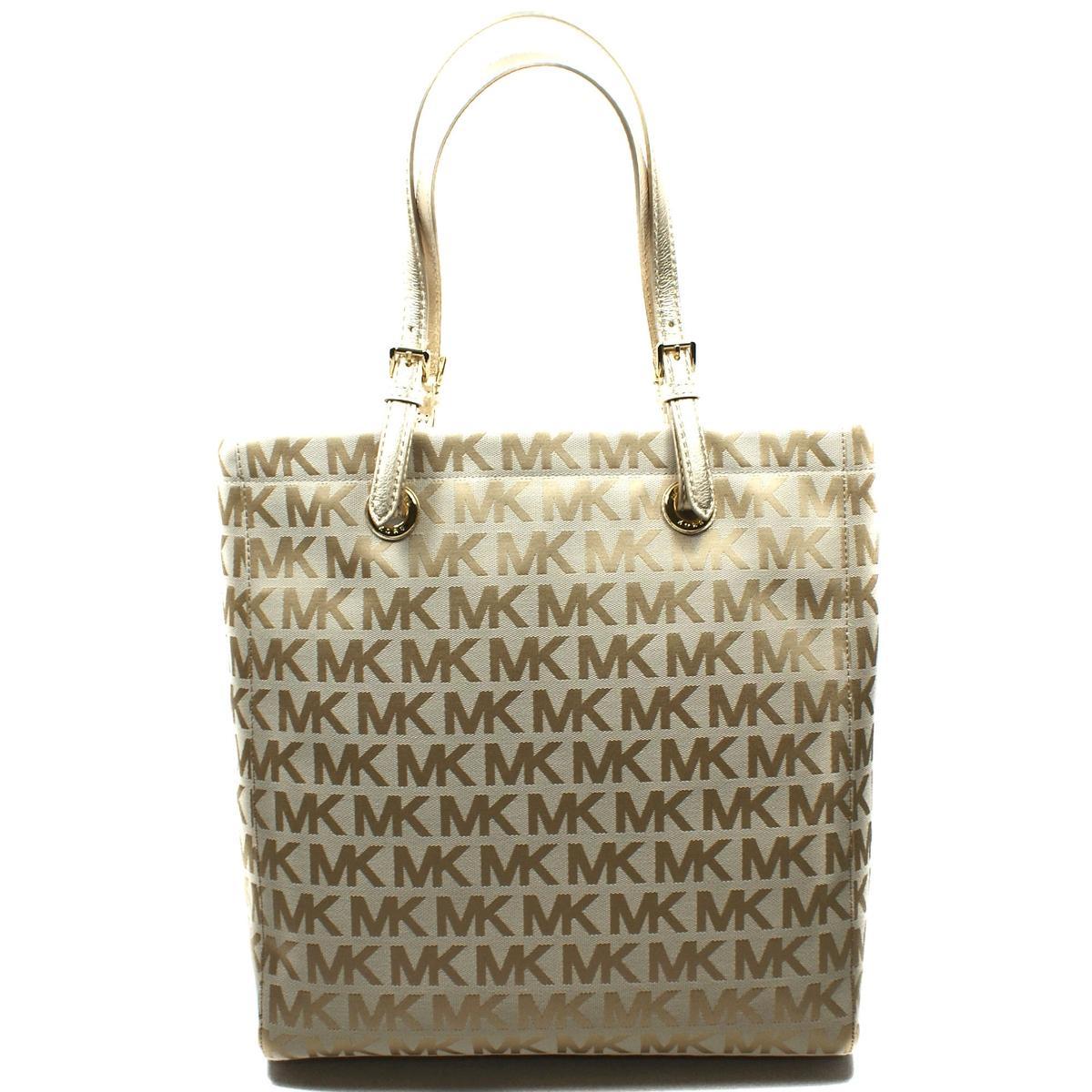 Case Design micheal kors phone cases : Michael Kors MK Signature Jacquard Medium Tote Bag Gold #38T2XTTT2J ...