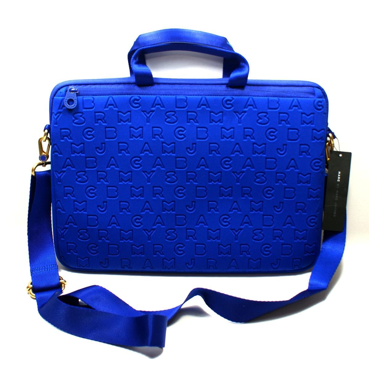 Case Design neoprene cell phone case : ... Marc Jacobs Meteorite Blue Neoprene 15 Inch Laptop Bag/ Messenger Bag