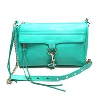 Mac Large Clutch/ Swing/ Crossbody Bag Aqua