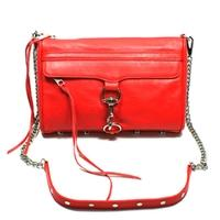 Mac Large Clutch/ Swing/ Crossbody Bag Red