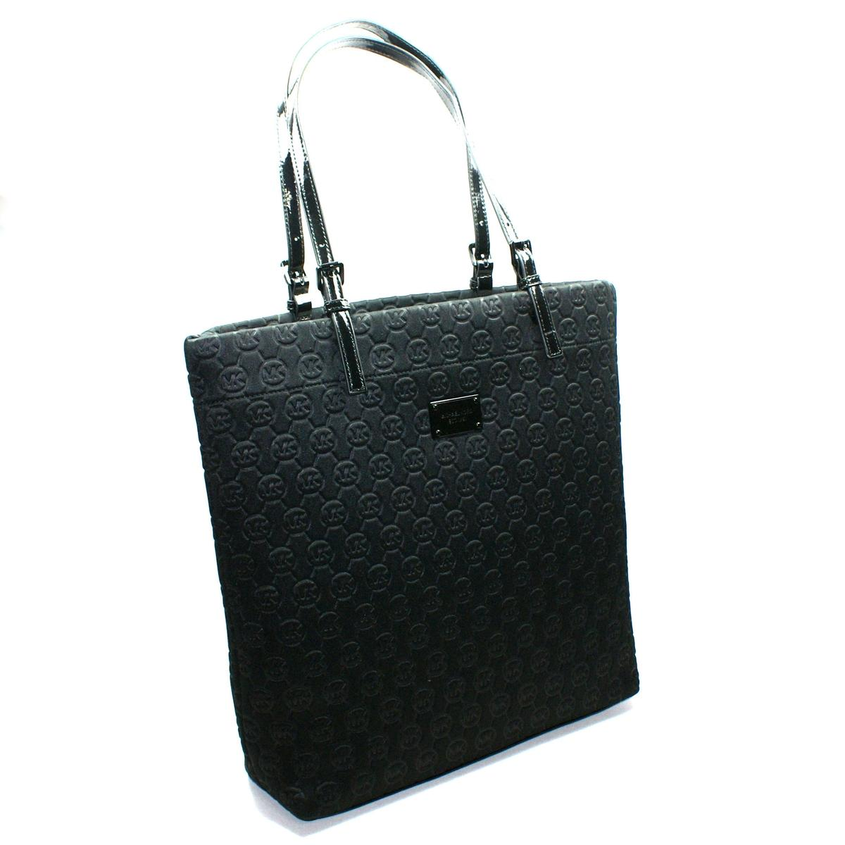 b5a26d55b1ccfb Home · Michael Kors · Neoprene Black Jet Set Tote Bag. CLICK THUMBNAIL TO  ZOOM. Found ...