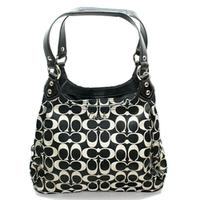 Ashley Signature Hobo Bag Black/ White