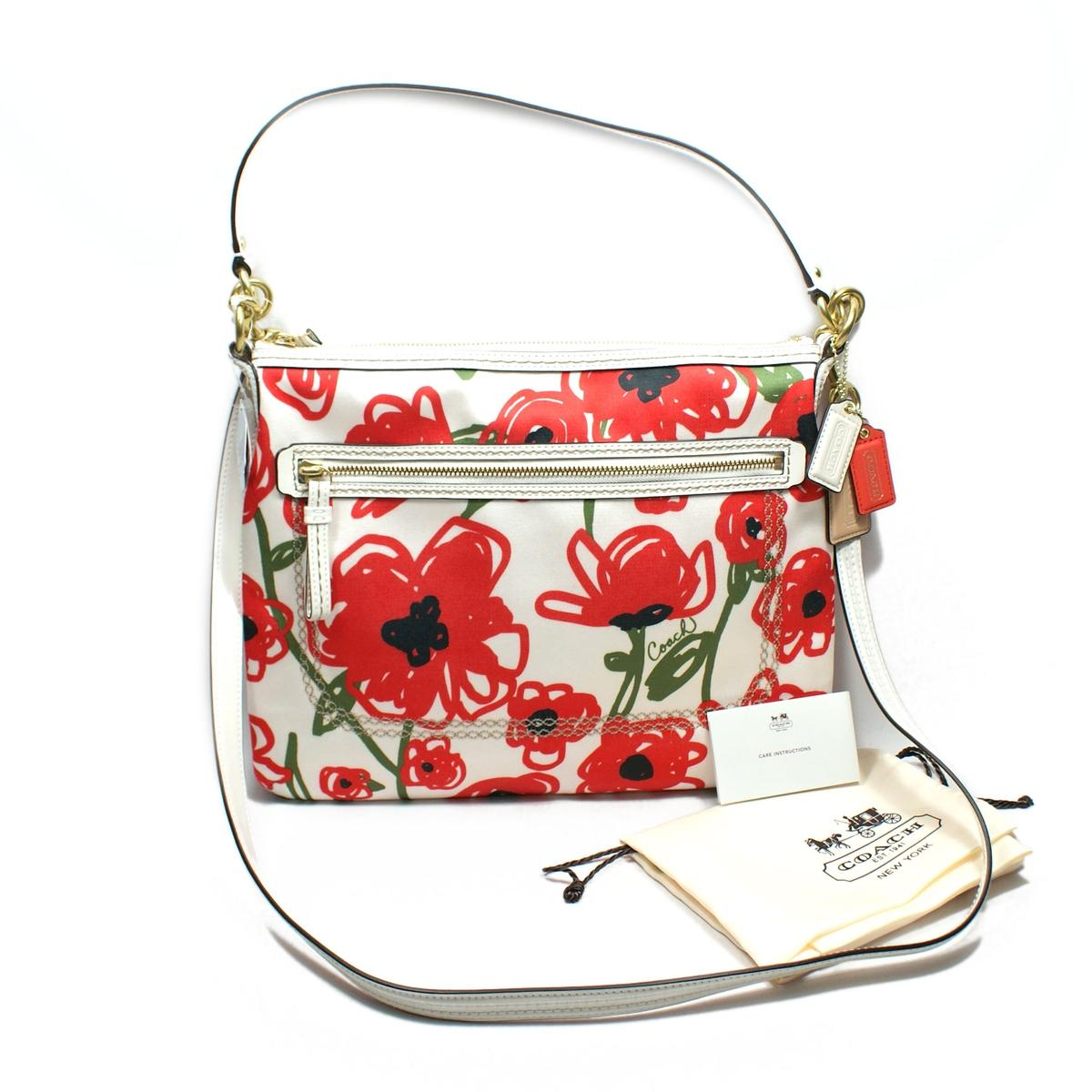 Coach poppy flora hippie shoulder bag cross body bag 22440 coach found mightylinksfo