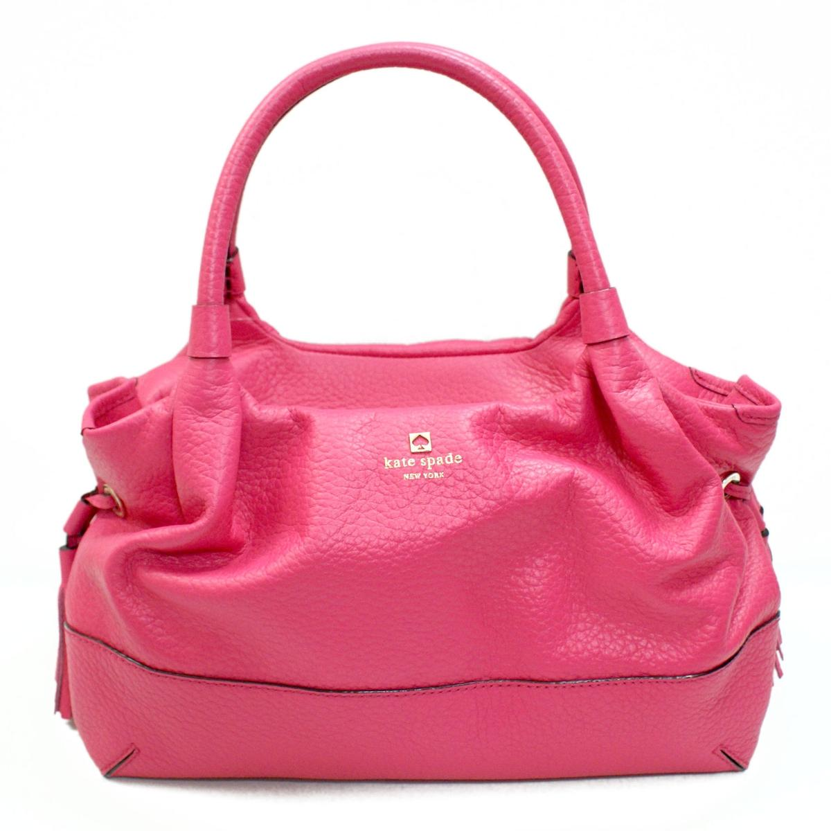 Kate Spade Stevie Southport Avenue Leather Pink Shoulder