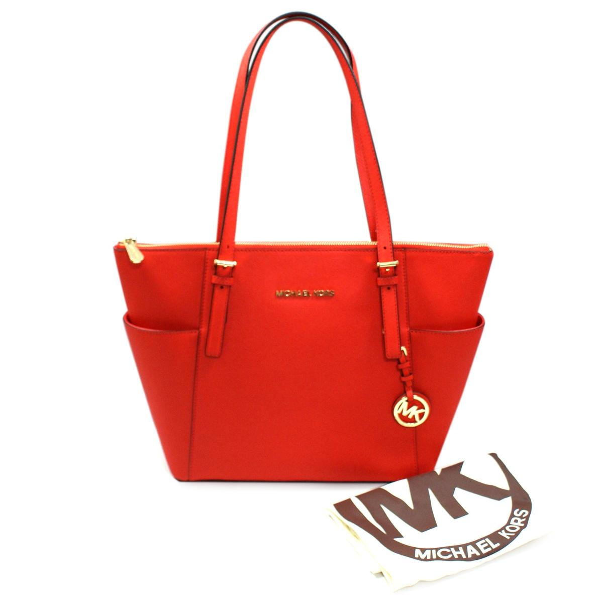 2c48cf243e252 Home · Michael Kors · Jet Set East West Genuine Leather Tote Mandarin. CLICK  THUMBNAIL TO ZOOM. Found ...