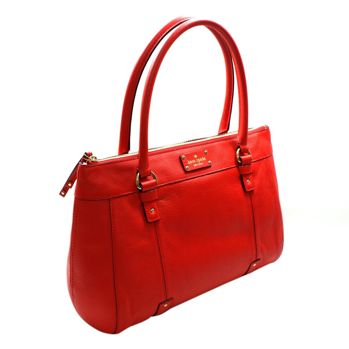 Kate Spade Red Shoulder Bag 7