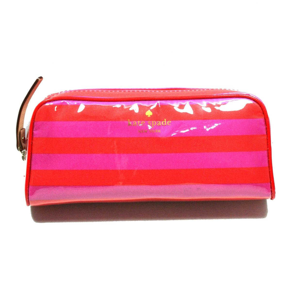 Kate Spade Small Henrietta Sweetshoppe Stripe Cosmetic Bag/ Pouch # ...
