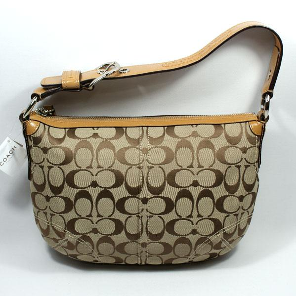 d310b0372fb7 ... low cost home coach soho signature hobo brn bag. click thumbnail to  zoom. found
