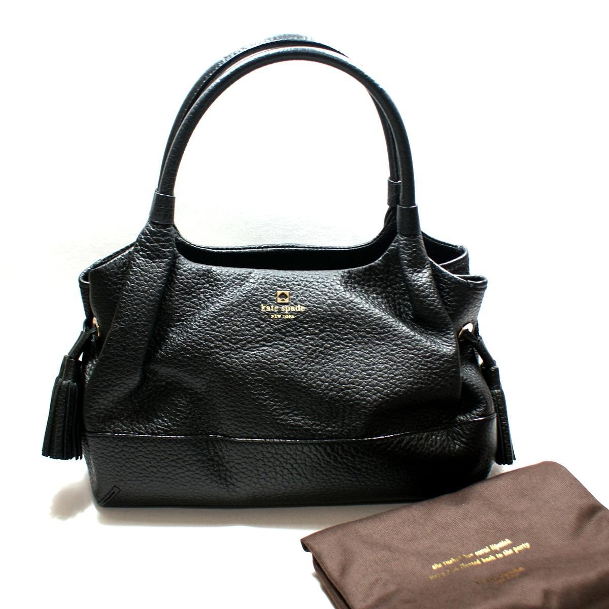Case Design designer cell phone case : Kate Spade Stevie Southport Avenue Leather Black Shoulder Bag/ Handbag ...