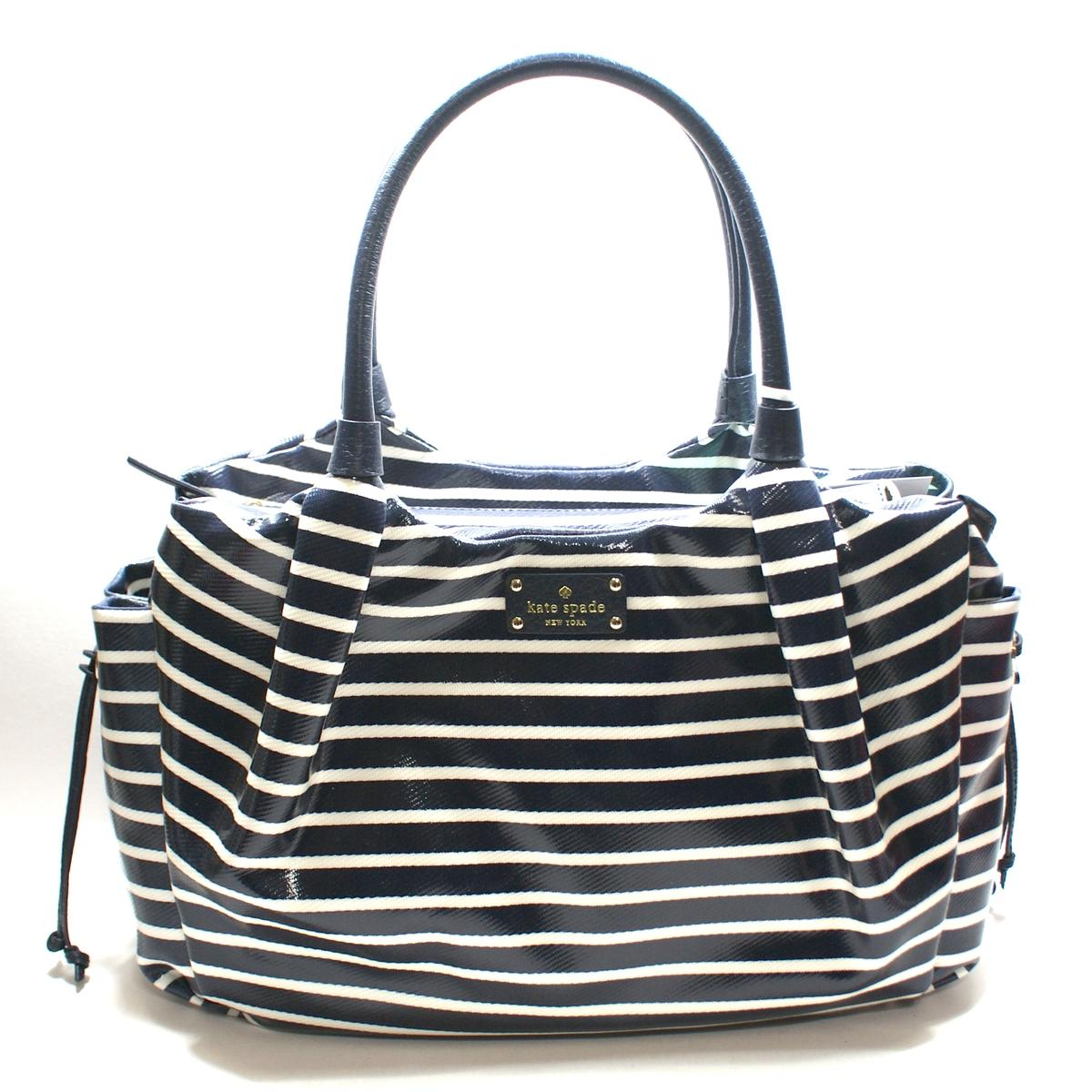 kate spade stevie baby bag southport avenue mariner shoulder bag diaper bag wkru2285 kate. Black Bedroom Furniture Sets. Home Design Ideas