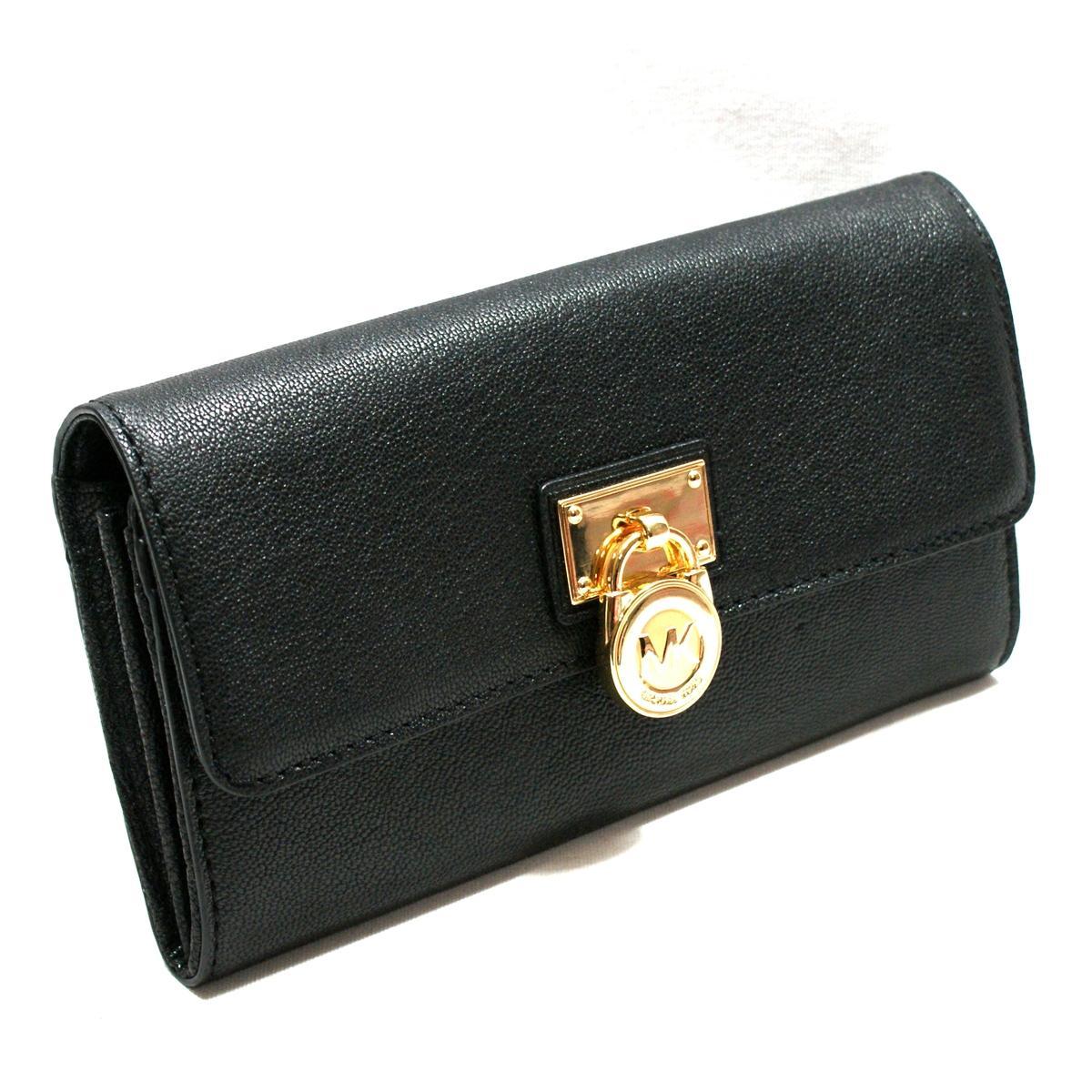 Michael Kors Hamilton Genuine Leather Large Flap Wallet