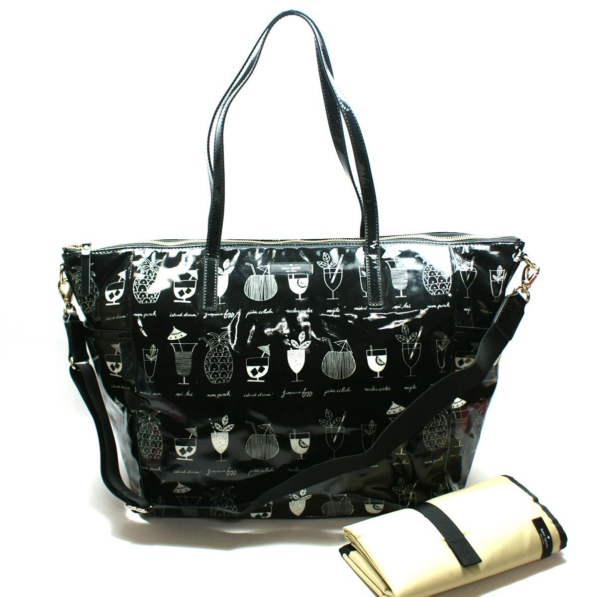 Kate Spade Adaira Baby Bag DaycationTiki Cocktails Diaper Bag/ Tote # ...