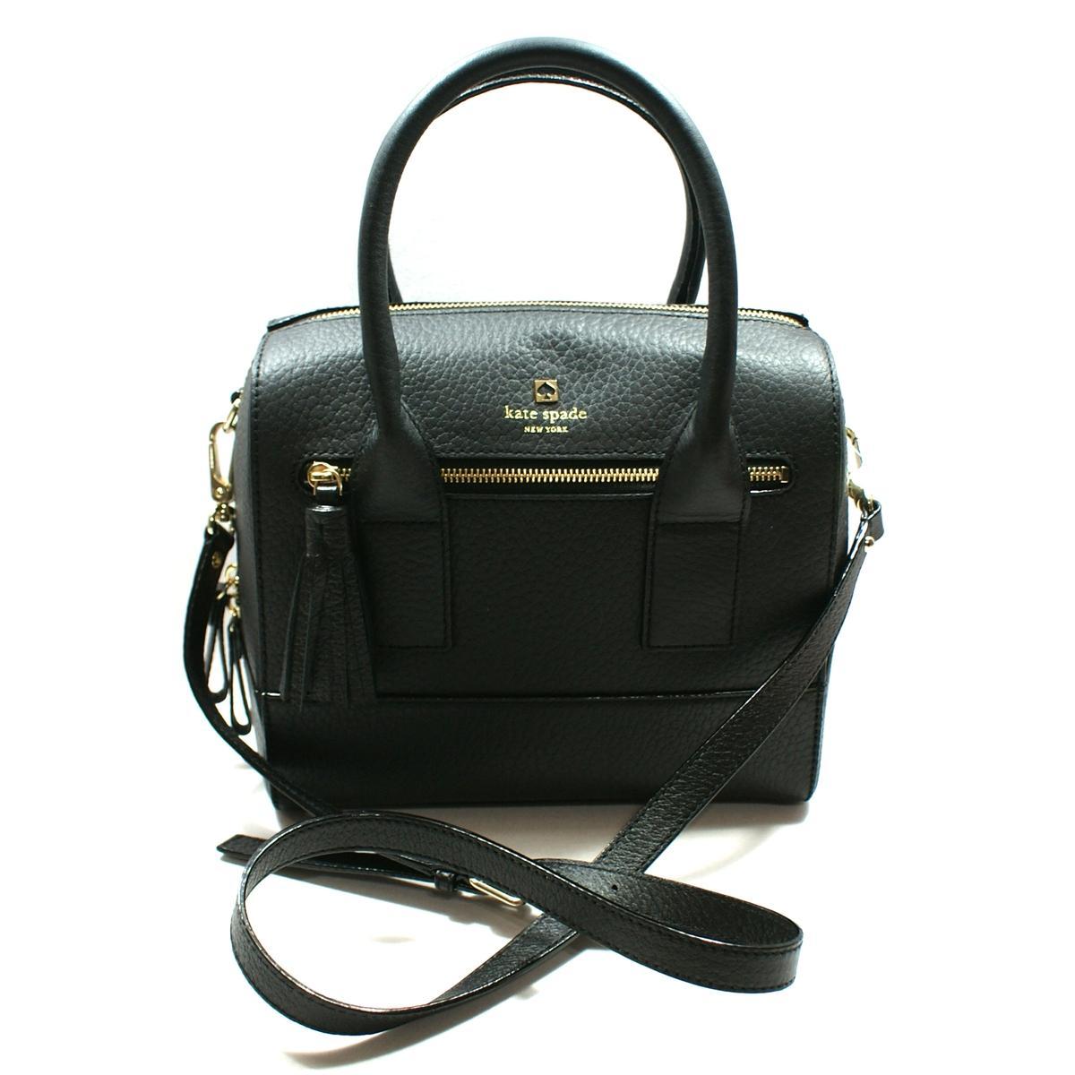 Kate Spade Alessa Southport Avenue Black Satchel Handbag