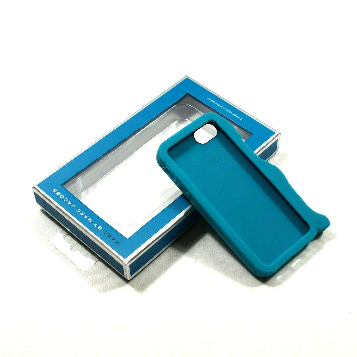 Case Design marc jacobs cell phone cases : Home Marc By Marc Jacobs IPhone 5 Case Premium Silicone Painted Teal ...