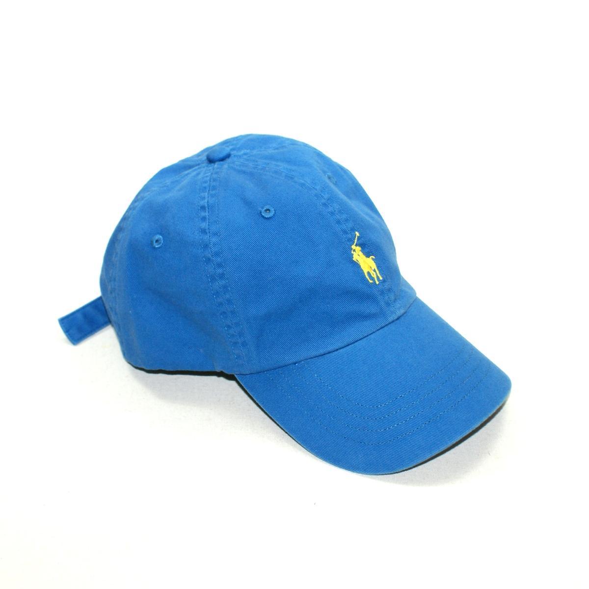 Polo Ralph Lauren Classic Signature Pony Hat Blue #6510261 AAEP : Polo ...