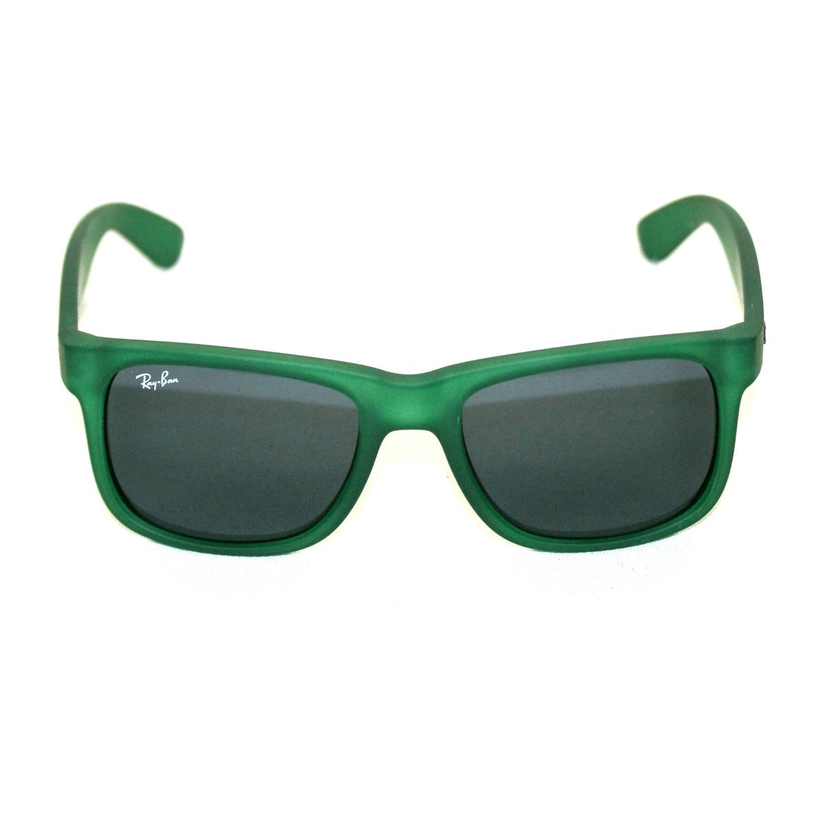 Ray Ban Justin Matte Green Sunglasses #RB4165 897/87 51 16