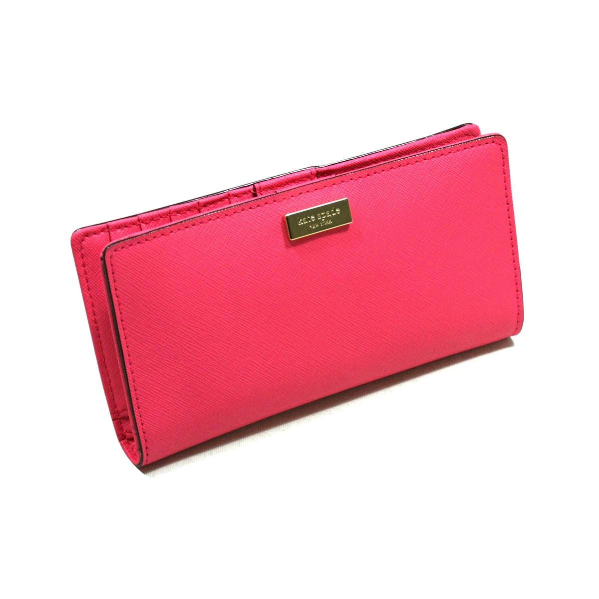 Kate Spade Stacy Newbury Lane Wallet Clutch Bazooka Pink