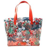 Marc By Marc JacobsPure Cream Multi Transparent Flowery Tote Bag