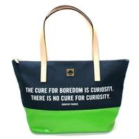 Kate SpadeSmall Coal Zip Top Call To Action Tote Bag French Navy