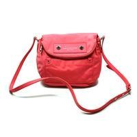 Marc By Marc JacobsBright Coral Small Nylon Swing/ Cross Body Bag