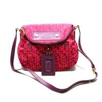 Marc By Marc JacobsCardinal Multi Pink Nylon Small Swing/ Cross Body Bag